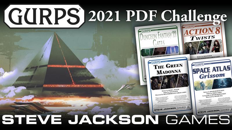 GURPS 2021 PDF Challenge