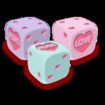 Candy Heart d6