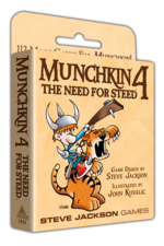 Munchkin 4 – The Need For Steed