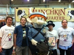 Finalists at the European Munchkin Championships