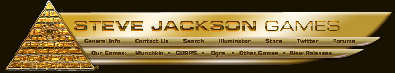 Steve Jackson Games – Site Navigation