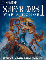 Superiors 1 – War and Honor cover