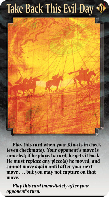 Knightmare chess cards