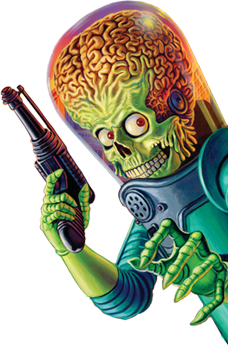 Mars Attacks Alien