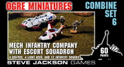 Combine Set 6 – Mechanized Infantry Company with Escort Squadron cover