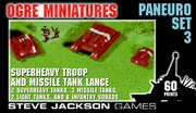 Paneuropean Set 3 – Superheavy Troop and Missile Tank Lance cover