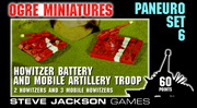 Paneuropean Set 6 – Howitzer Battery and Mobile Artillery Troop cover