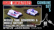 Combine Set 5 – Missile Tank Squadrons & Mobile Battery