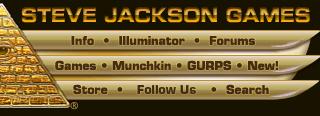 Steve Jackson Games – Site Navigation