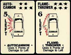 Auto Cannon and Flame Thrower