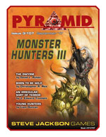 Pyramid #3/107 - September '17 - Monster Hunters III