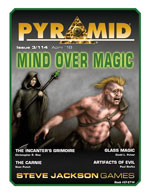 Pyramid #3/114: Mind Over Magic