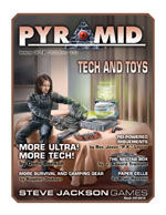 Pyramid #3/12 - October '09 - Tech Toys