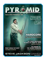 Pyramid #3/14 - December '09 - Martial Arts