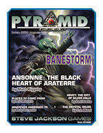 Pyramid #3/22 - August '10 - Banestorm