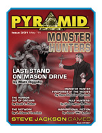 Pyramid 3-31 Monster Hunters