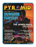 Pyramid #3/36 - October '11 - Dungeon Fantasy