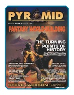 Pyramid #3/41: Fantasy World-Building