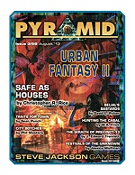 Pyramid #3/58 - August '13 - Urban Fantasy II