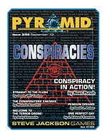 Pyramid #3/59 - September '13 - Conspiracies