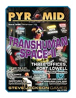 Pyramid #3/62 - December '13 - Transhuman Space II