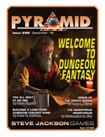 Pyramid #3/98 - December '16 - Welcome to Dungeon Fantasy