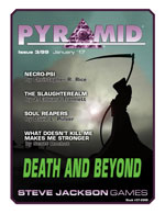 Pyramid #3/99 - January '17 - Death and Beyond