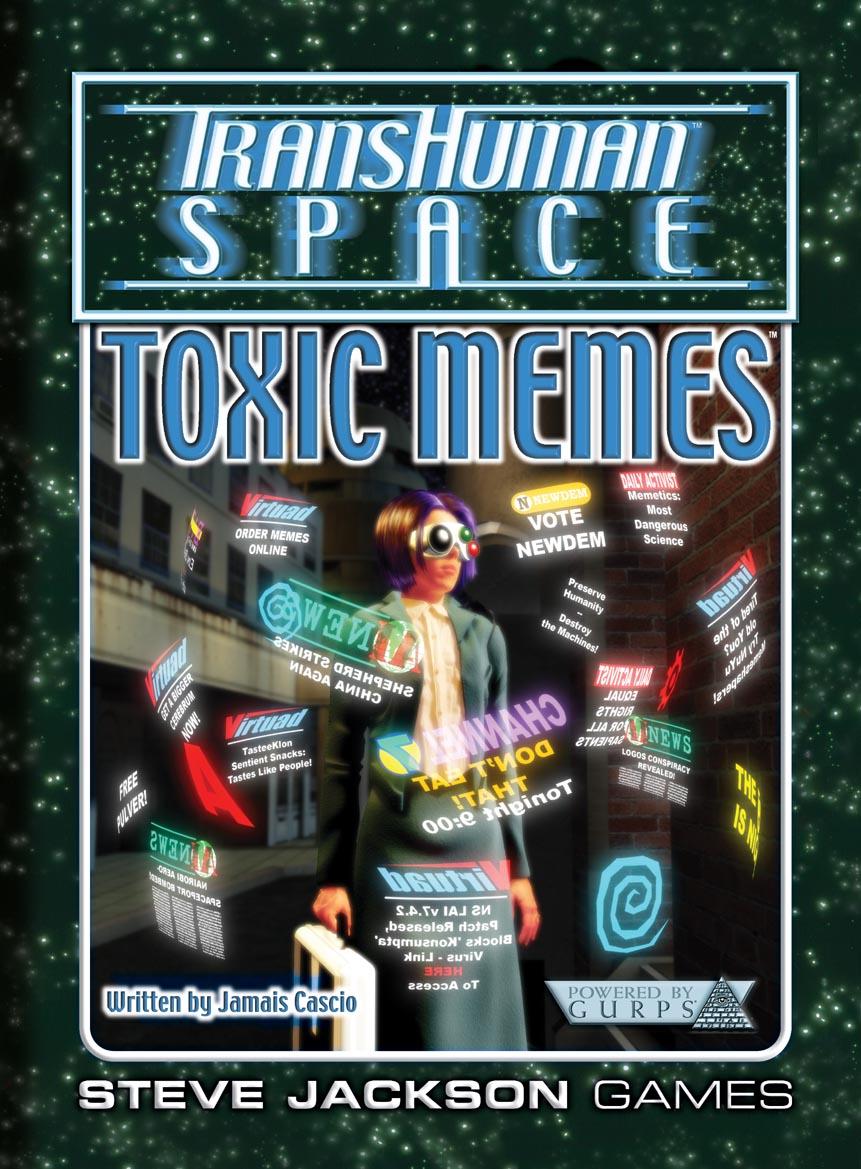 GURPS Transhuman Space: Toxic Memes