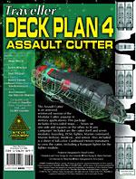 GURPS Traveller Deck Plan 4: Assault Cutter