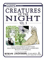 GURPS Creatures of the Night, Vol. 4 – Cover