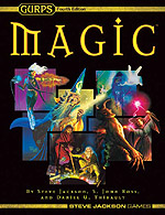 GURPS Magic: Artillery Spells – Cover